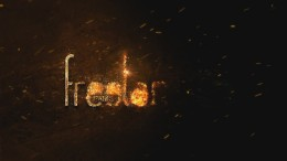 création animation logo enflammé doré mystique