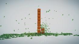 création animation logo 3d déroulement de cubes