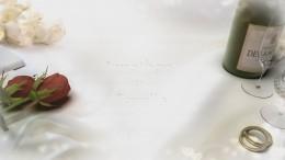 réalisation diaporama mariage thème la blancheur