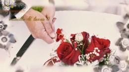 réalisation diaporama mariage vintage en fleurs de vortex